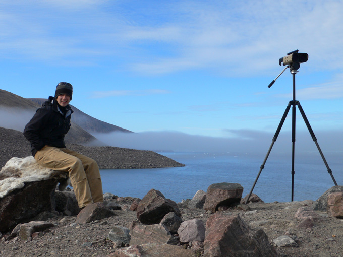 Kristin Laidre in Greenland