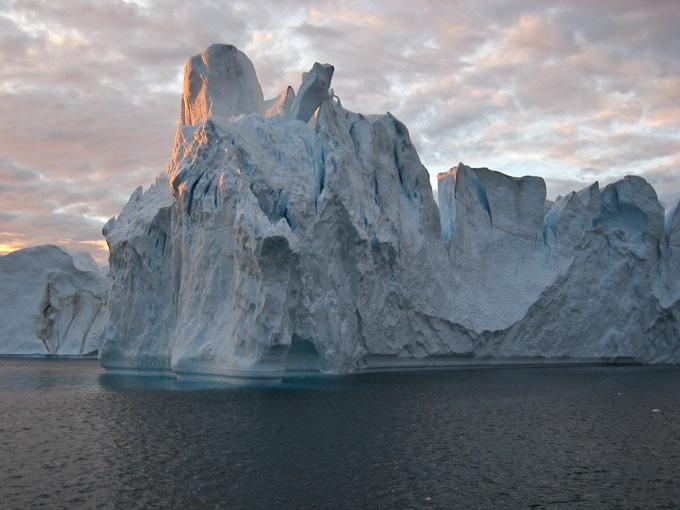 Iceberg near Ilulisat, Greenland