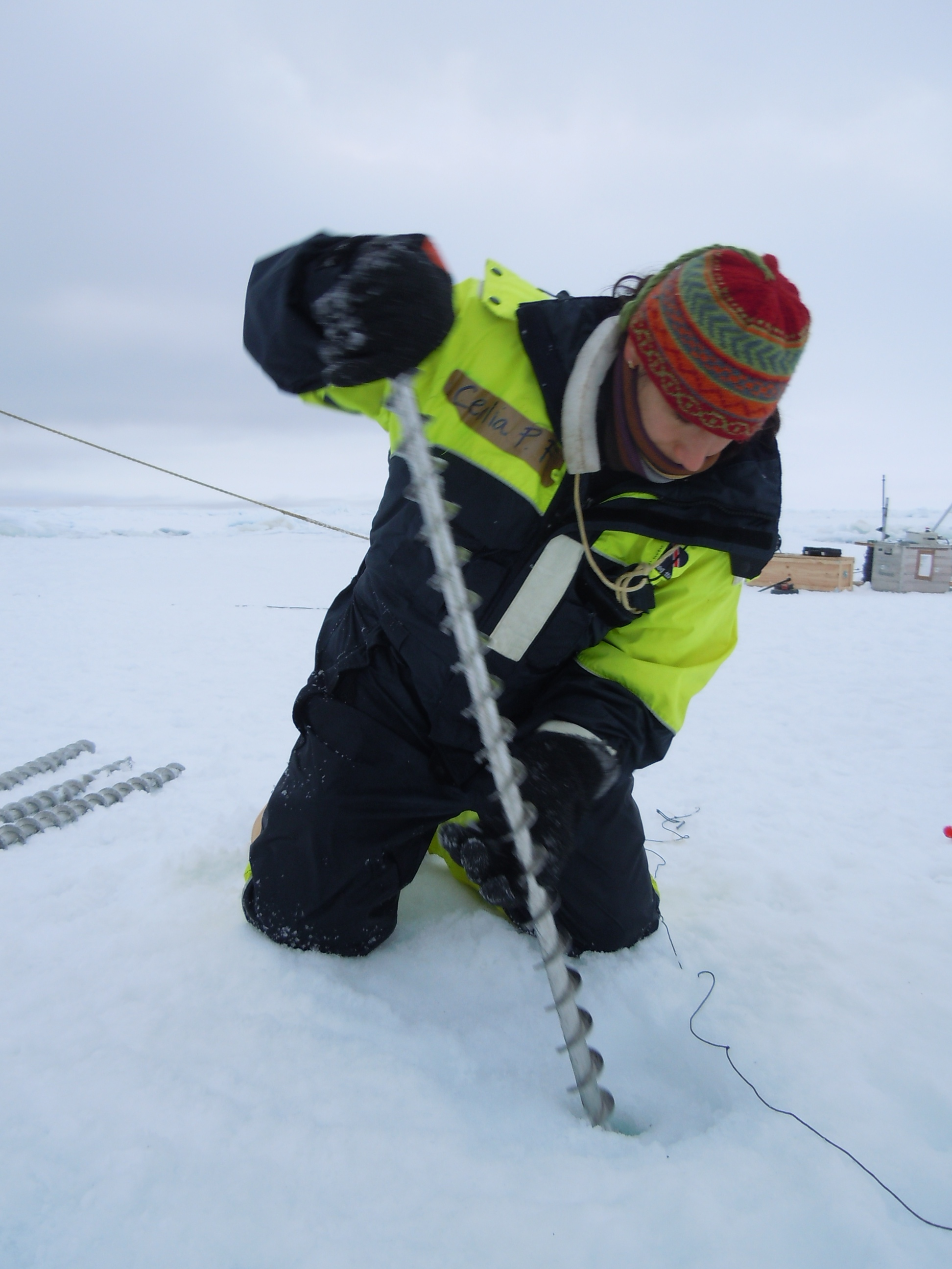 Measuring ice
