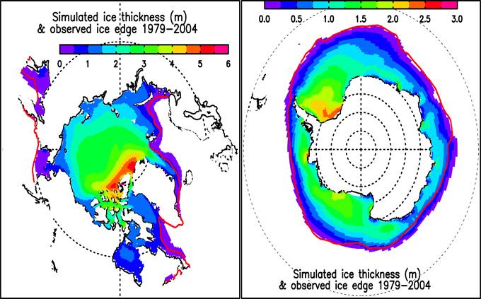 PIOMAS_ArcticAntarctic
