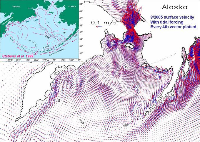 Bering Sea Circulation